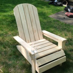 Plans Adirondack Chairs Free Lawn Chair With Canopy And Footrest Ana White Diy Projects