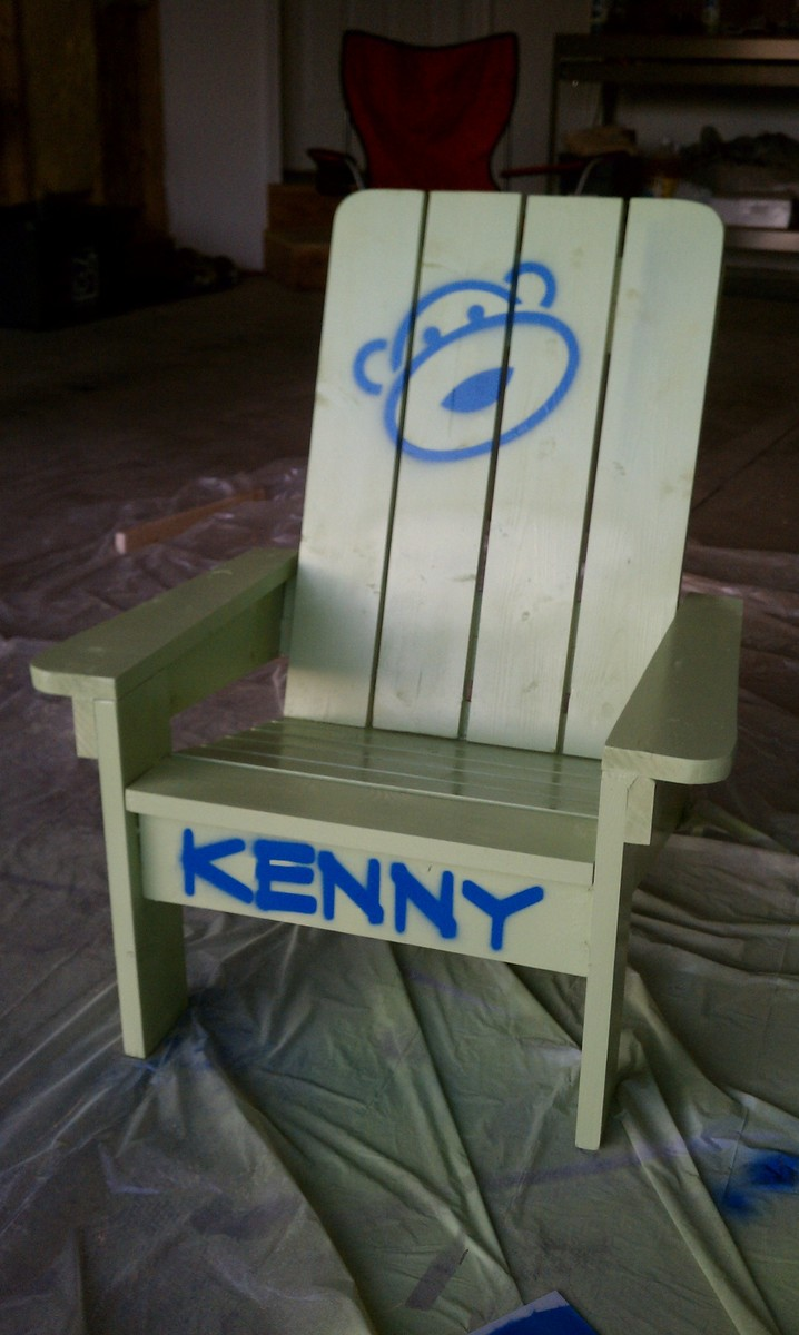 adirondack chair diy ana white with ottoman kids projects