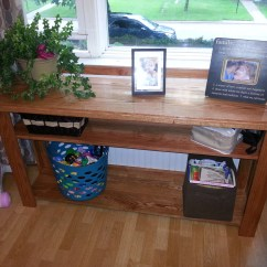 Ana White Sofa Table Ashford Mauve Next Console Diy Projects
