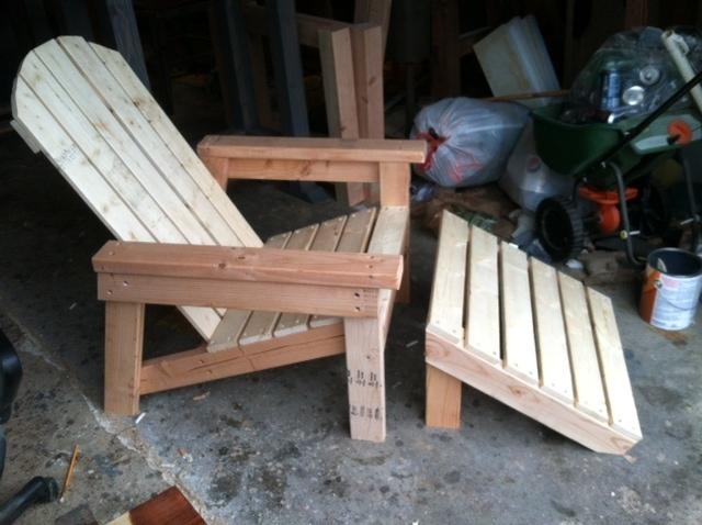 Ana White Adirondack Chair Home Depot Version DIY