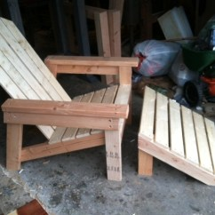 Adirondack Chair Diy Ana White Slipcovers Canada Home Depot Version Projects Pdf