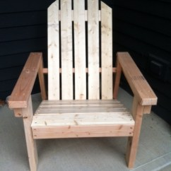 Adirondack Chair Diy Ana White Argos Wheelchair Covers Home Depot Version Projects Additional Photos