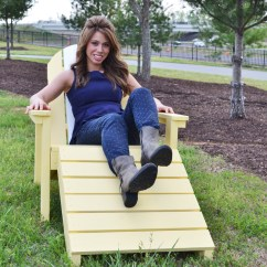 Adirondack Chair Diy Ana White Soft Toddler Chairs Home Depot Footstool Projects Build An Super Easy Tutorial