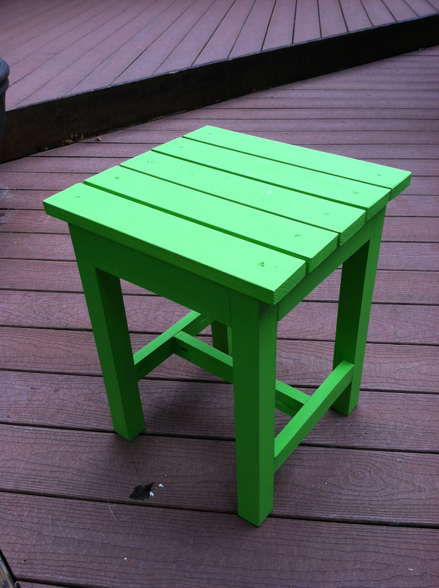 Ana White  Adirondack End Table  DIY Projects