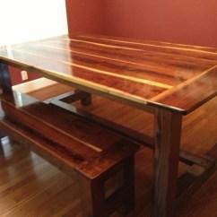 Black Walnut Kitchen Table Mitts Ana White Farmhouse Diy Projects