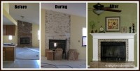 Ana White | Fireplace Remodel - DIY Projects