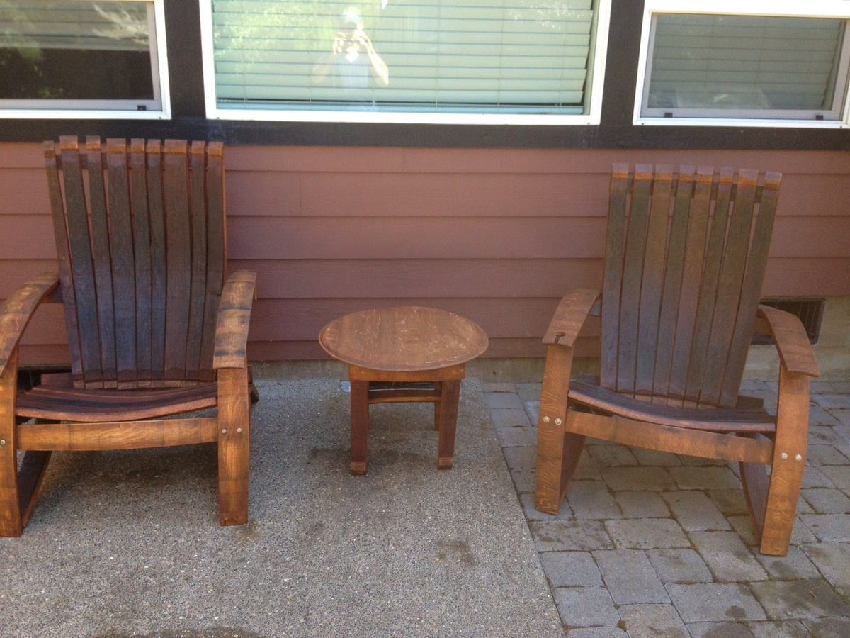 adirondack chair diy ana white office accessories australia wine oak barrel projects