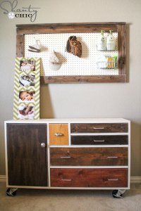 Ana White | Modern Patchwork Dresser - DIY Projects