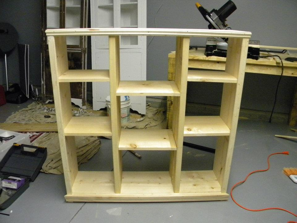 Ana White 9 Cubby Shelf Diy Projects