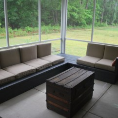 Diy Patio Sofa Plans Bailey Boston Interiors Ana White Platform Outdoor Sectional Projects