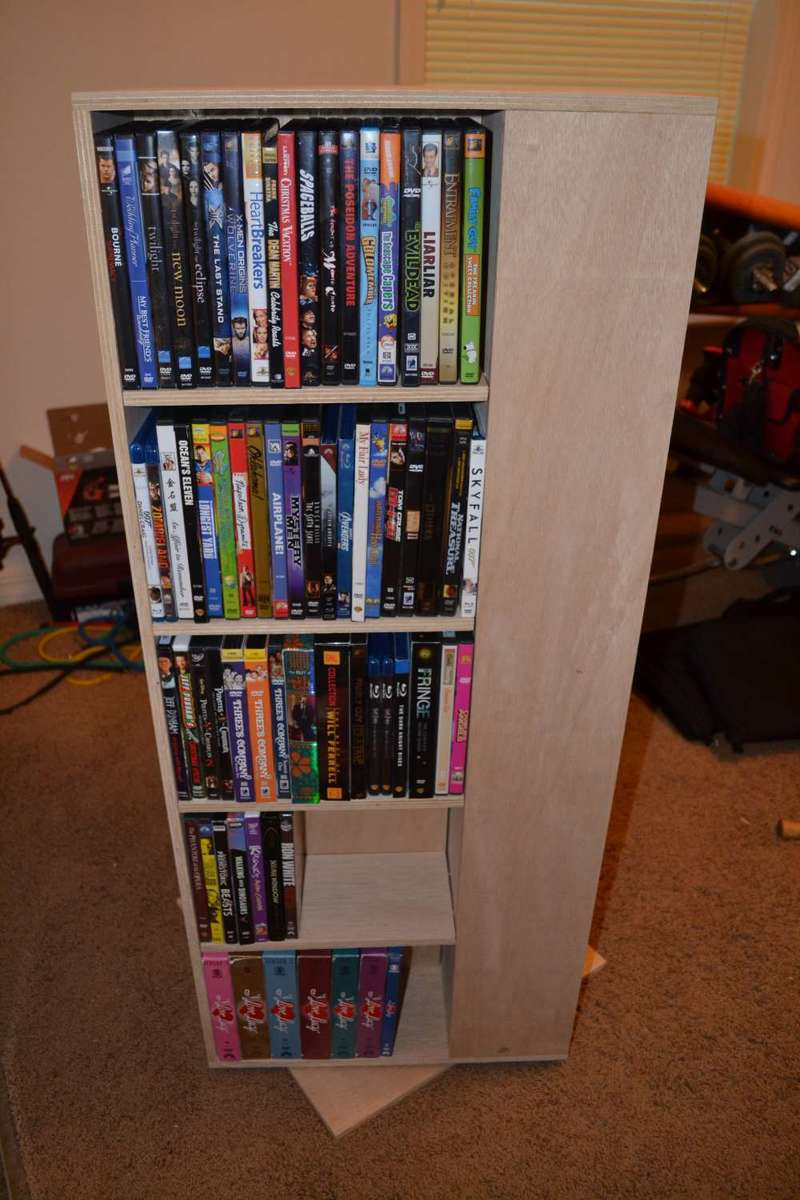 Diy Dvd Shelf Plans