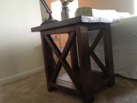 Ana White | Rustic X End Tables - DIY Projects