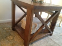 Ana White Rustic X End Tables - Diy Projects