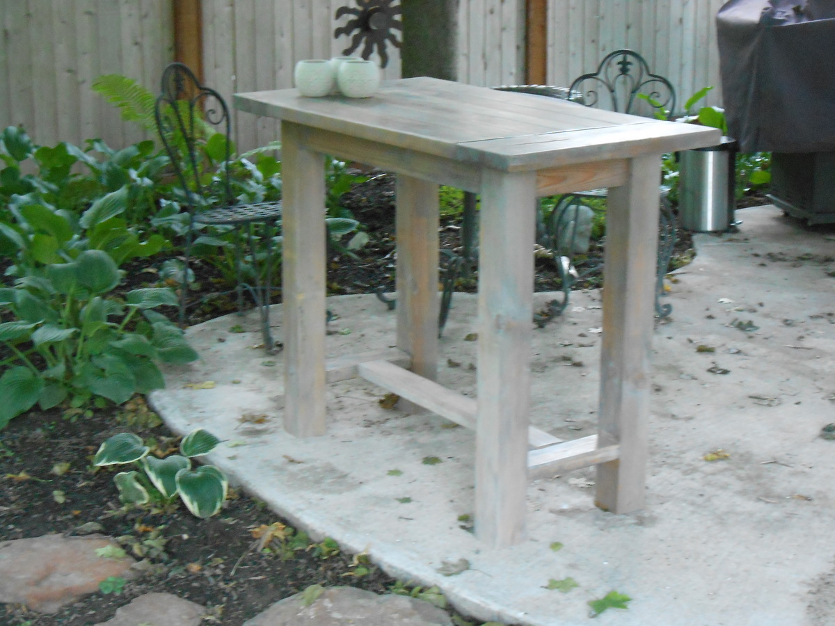 do it yourself outdoor kitchen countertops white ana farmhouse table modified to become an