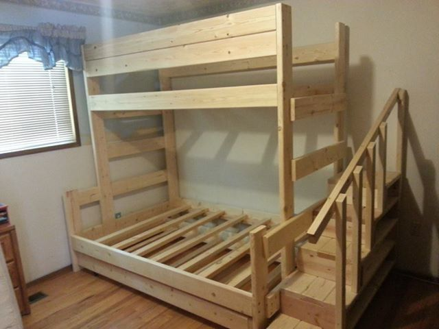 Ana White  Dreamworks Custom Bunk beds and Lofts  DIY