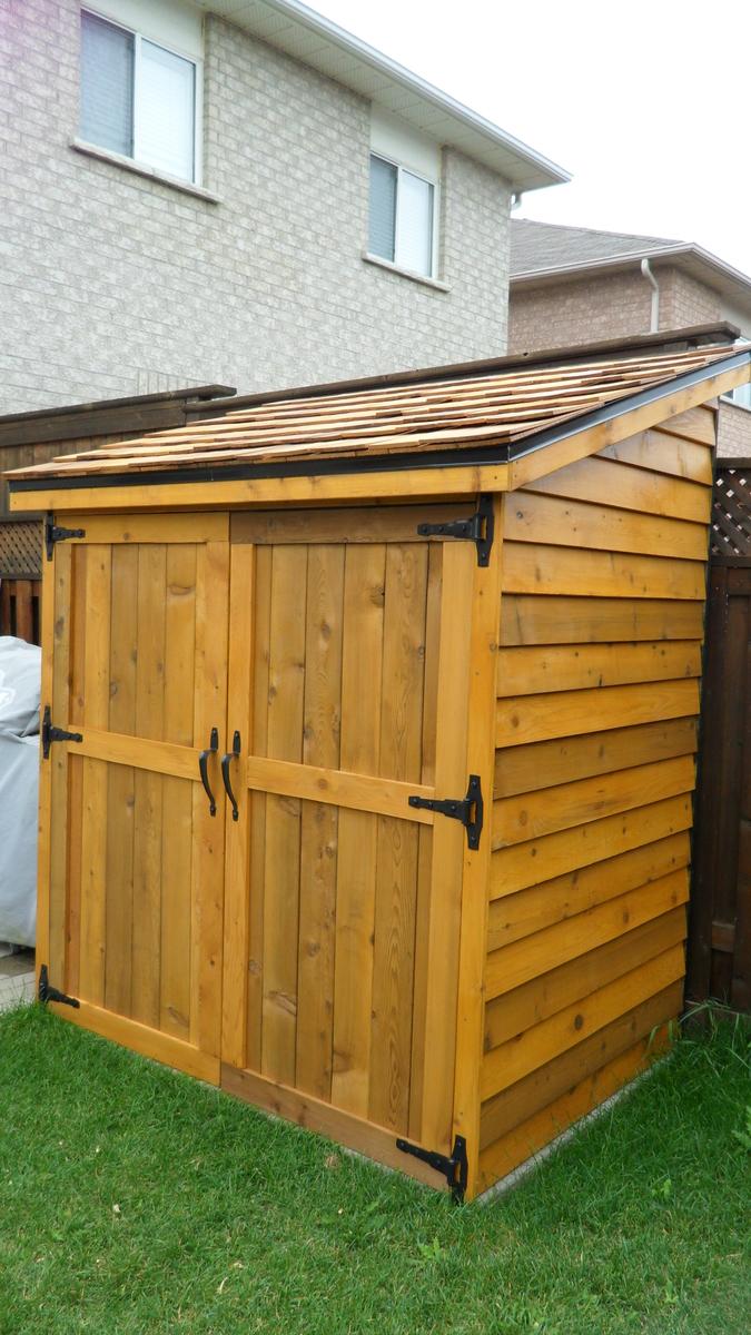 medium resolution of cedar shed