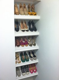 Ana White | Designer Shoe Shelves on a Budget - DIY Projects