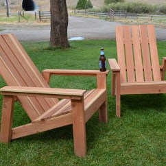 Plans Adirondack Chairs Free Gci Outdoor Recliner Chair Ana White First Build Redwood Diy