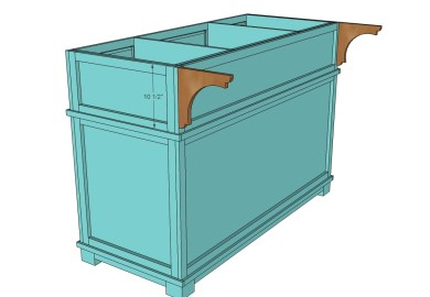 Ana White Build A Shepard Kitchen Island Free And Easy