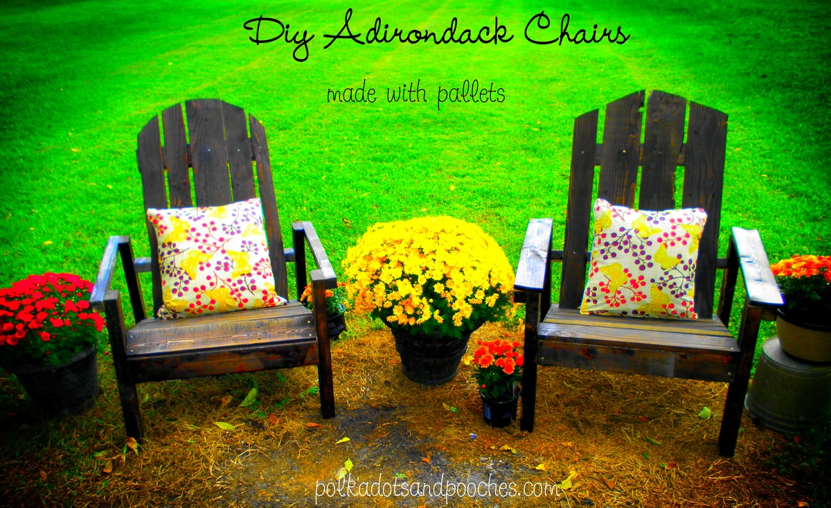 adirondack chair diy ana white revolving under 3000 chairs made from pallets projects