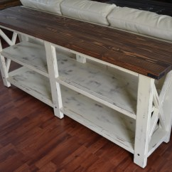 Building A Sofa Table Chesterfield Style Ana White Rustic X Console Diy