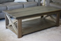 Ana White | rustic x coffee table - DIY Projects