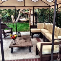 Ana White Giant Outdoor Sectional - Diy Projects
