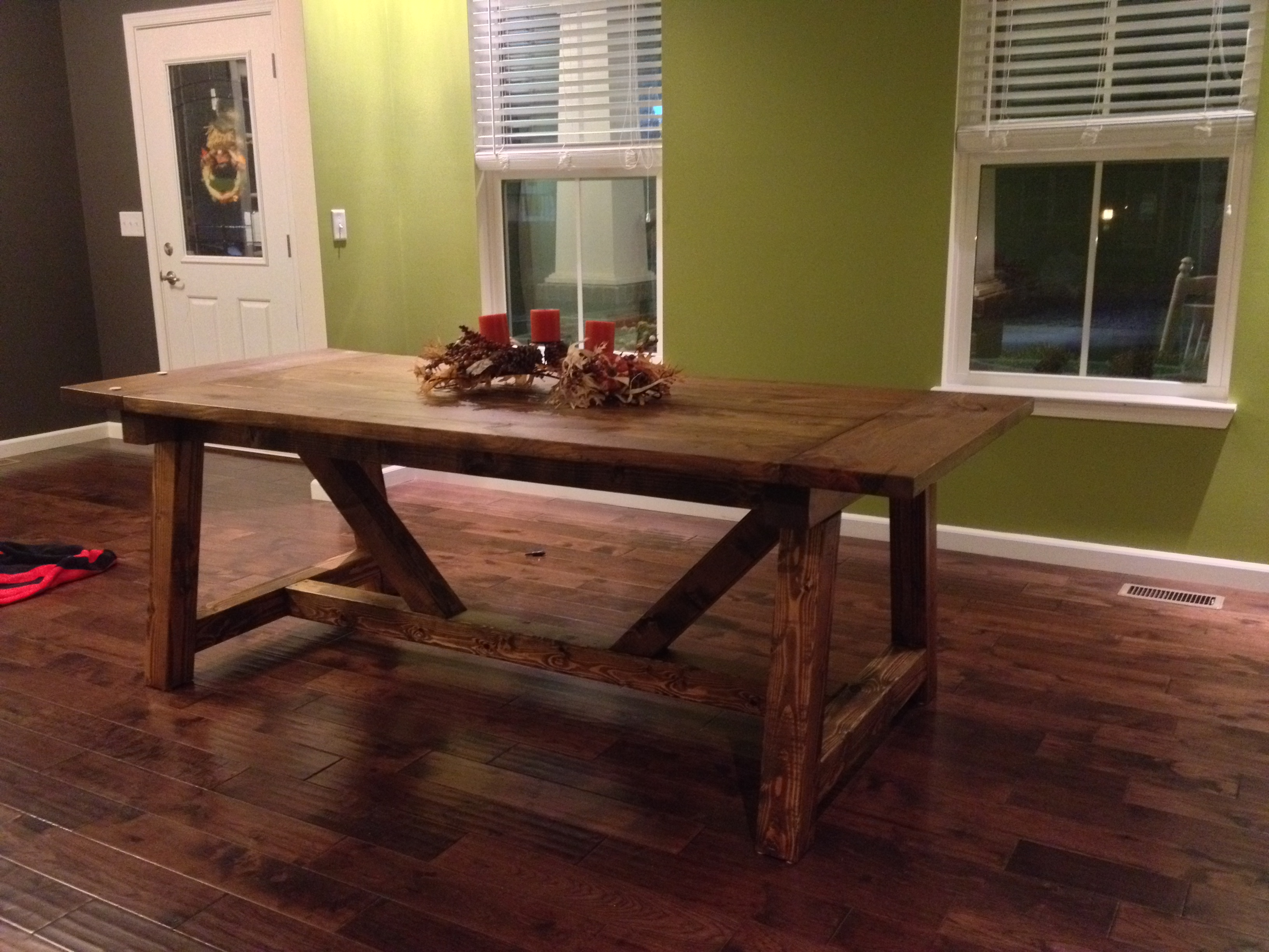 Ana White 4 X 4 Truss Beam Table DIY Projects