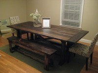 Ana White Farmhouse Dining Table Bench Diy Projects ...