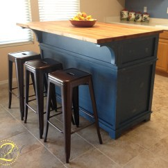 Diy Kitchen Island With Seating Hood Exhaust Fan Ana White Projects