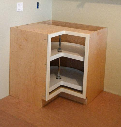 Ana White 36quot Corner Base Pie Cut Kitchen Cabinet