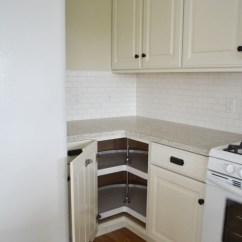 White Corner Kitchen Cabinet Repair Cabinets Ana 36 Base Pie Cut Momplex