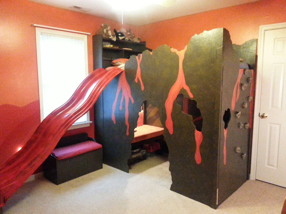 Ana White  Volcano Loft Bed  DIY Projects