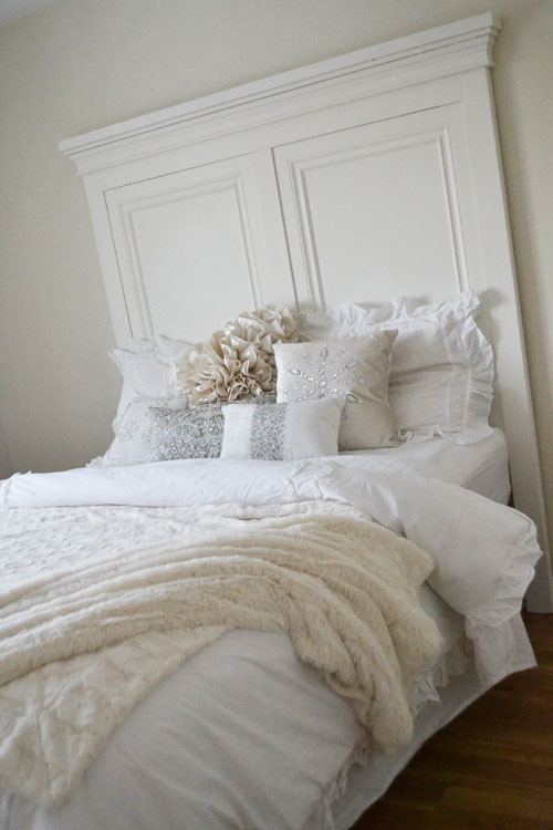 ana white | tall panel headboard - queen - diy projects