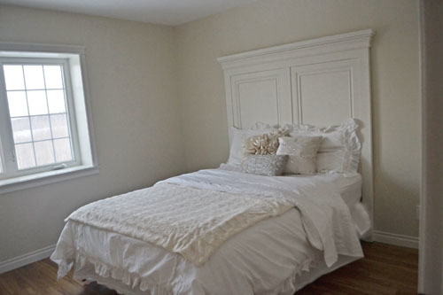 ana white   tall panel headboard - queen - diy projects