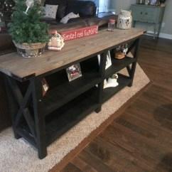 Ana White Sofa Table Ashley Furniture Montgomery Mocha Diy Projects