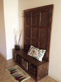 Ana White | Fancy Hall Tree Bench - DIY Projects