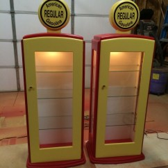 Order Kitchen Cabinets Online Table For Small Spaces Ana White | Gas Pump Curio Cabinet - Diy Projects
