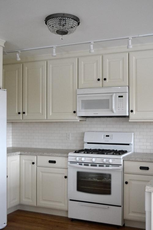 """Ana White 21"""" Wall Kitchen Cabinets Momplex Vanilla Kitchen"""