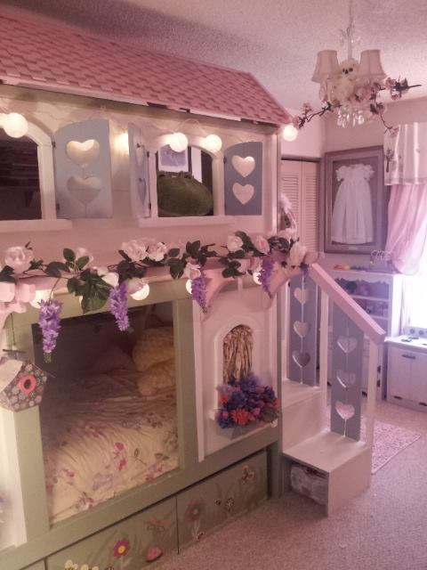Ana White  Sweet Pea Bunk Beds  DIY Projects