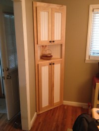 Ana White | Corner Cabinet - DIY Projects