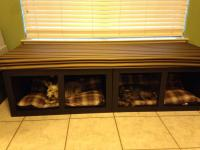 Ana White   Dog Bed Window Seat - DIY Projects