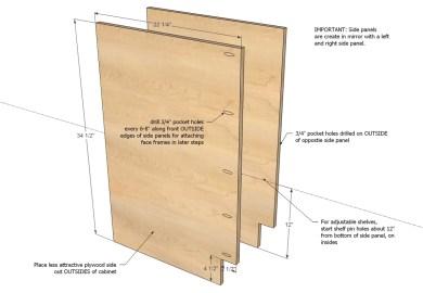 B130e6 Building Base Kitchen Cabinets