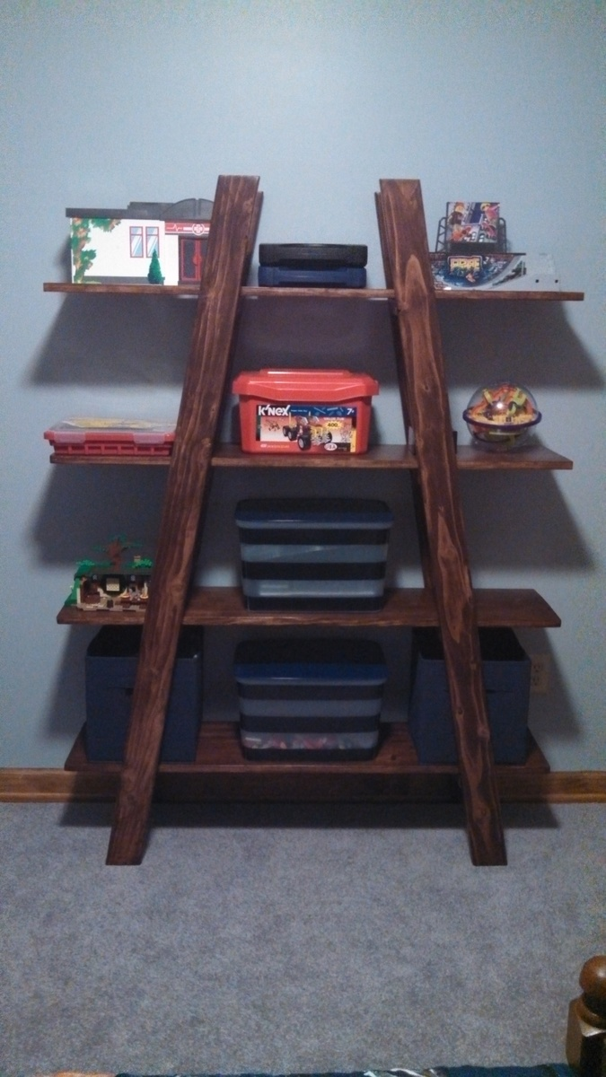 Ana White Truss Shelves For Boys Room DIY Projects