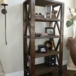Rustic Bookcase Ana White