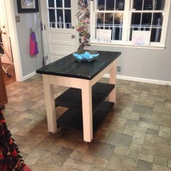 Kitchen Island Casters Design Ideas For Small Kitchens Ana White | Rolling - Diy Projects