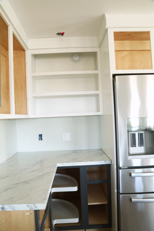 Ana White  Open Wall Cabinet  36 Wide x 30 Tall  DIY