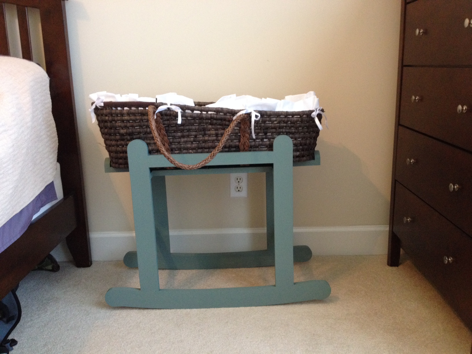 Ana White Moses Basket Rocker Diy Projects