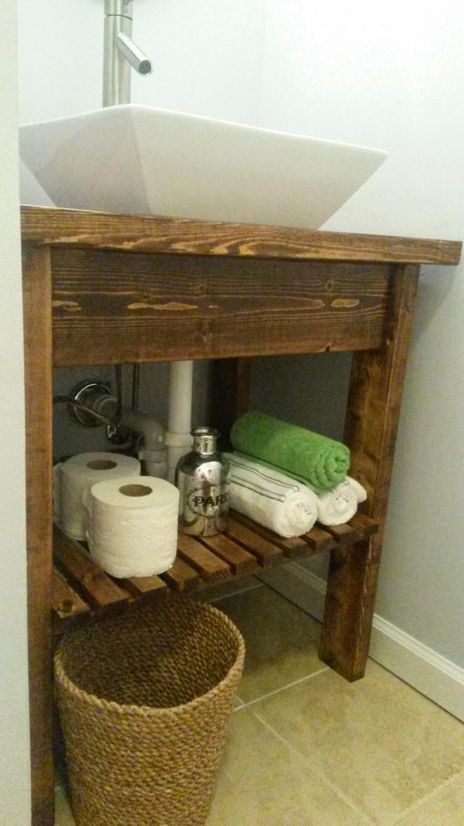 Ana White  Easy Kitchen Island Bathroom vanity  DIY