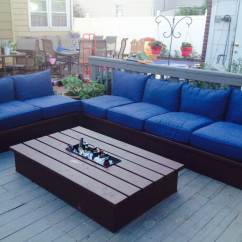 Diy Outdoor Sofa Table Norcastle Ashley Furniture Ana White Pallet Style Platform Sectional